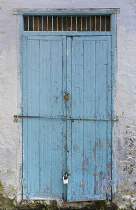 morocco wood old medieval door